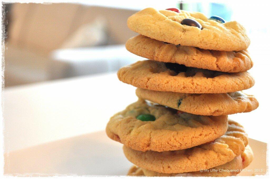 M&M Cookies 6
